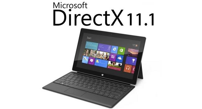 DirectX 11.1 только для Windows 8