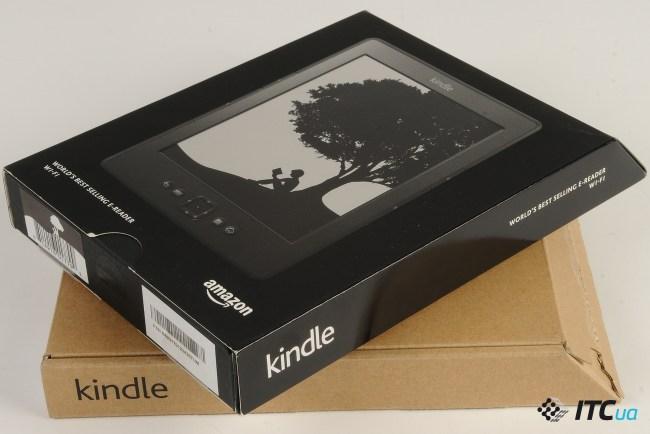Сравнение: Amazon Kindle 5 (black) vs. Amazon Kindle 5 (graphite)