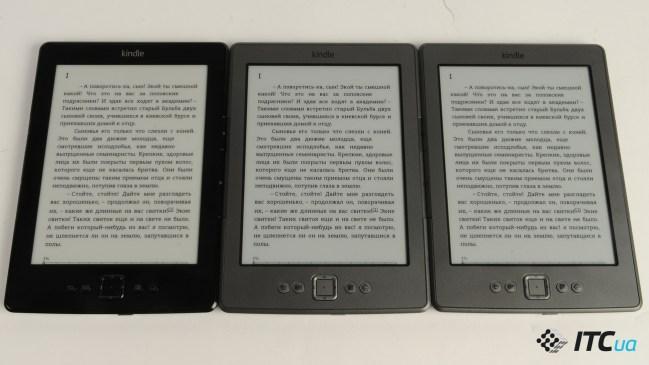 Сравнение: Amazon Kindle 5 (black) vs  Amazon Kindle 5
