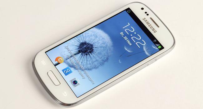 Обзор смартфона Samsung Galaxy S III mini