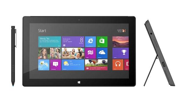 Стали известны характеристики и цена планшета Microsoft Surface с Windows 8 Pro