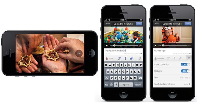 Google создала iOS-приложение для записи и загрузки видео на YouTube