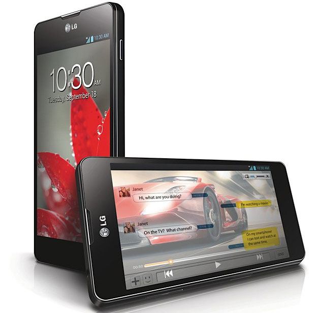 LG представила в Украине смартфон Optimus G по цене 6000 грн