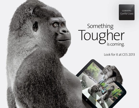 Еще тверже. Corning представила защитное стекло Gorilla Glass 3