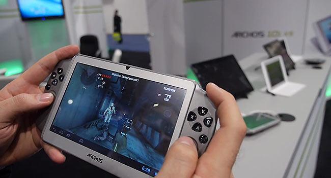 7-дюймовый игровой планшет Archos GamePad появится в продаже в феврале за $170