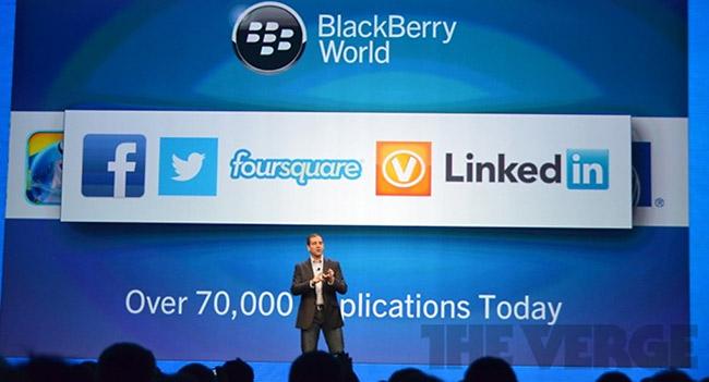 BlackBerry показала сторонний софт для BB10 и полностью переработанный мессенджер