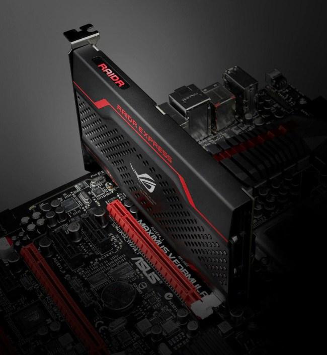 ASUS RAIDR Express: скоростной твердотельный накопитель с интерфейсом PCI Express x4