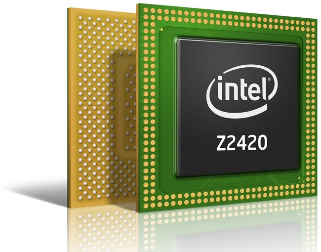 Intel представила процессор Intel Atom Z2420 (Lexington) для бюджетных смартфонов