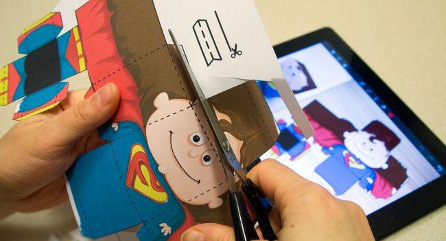 Foldify: ножницы, клей, iPad