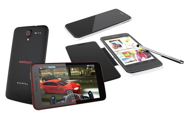 Alcatel One Touch Scribe HD – очередной конкурент Samsung Galaxy Note II