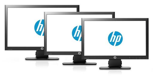 HP представила новую линейку мониторов