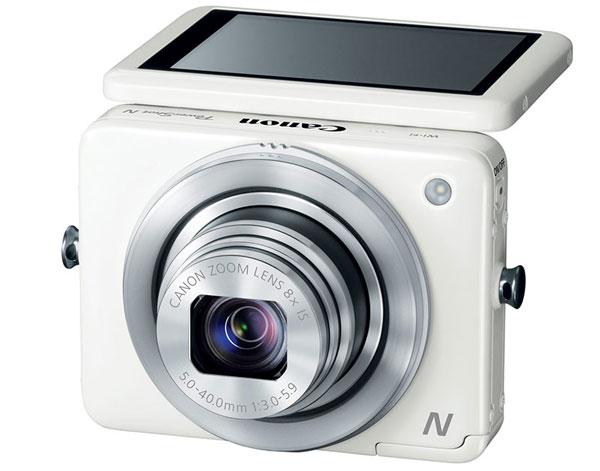 Canon выпустила компактную цифровую фотокамеру PowerShot N