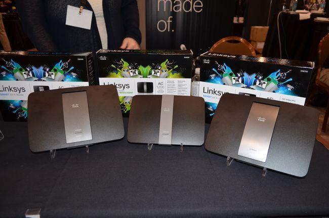 Новые Wi-Fi роутеры Linksys с поддержкой 802.11ac