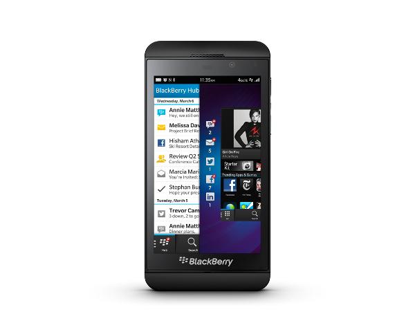 BlackBerry Z10 и Q10 - первые смартфоны на платформе BlackBerry 10