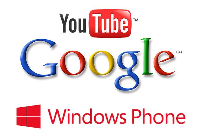 Microsoft: Google блокирует разработку приложения YouTube для Windows Phone