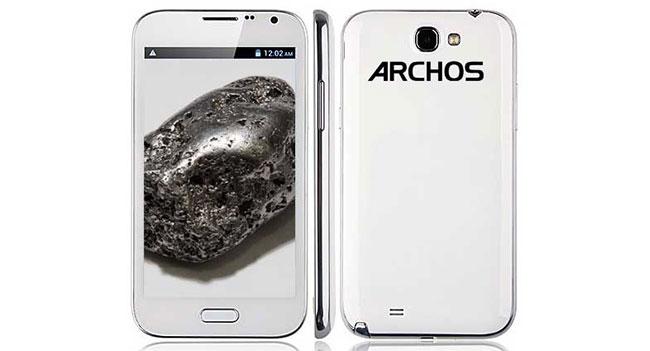Archos выпустит весной три смартфона на базе ОС Android