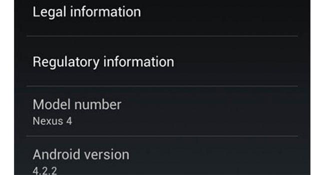 Google начала распространять обновление до Android 4.2.2 для устройств Nexus