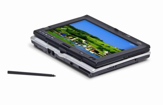 Трансформер Fujitsu Lifebook P1630 – один из многочисленных представителей эпохи Microsoft Tablet PC
