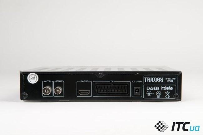 Trimax_DVB-T2_connectors