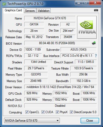 ASUS_GTX670_mini_GPU-Z_info