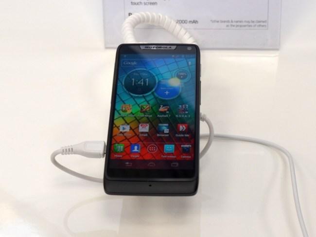 Motorola RAZRi – один из самых мощных смартфонов на рынке, основанный на Intel Atom