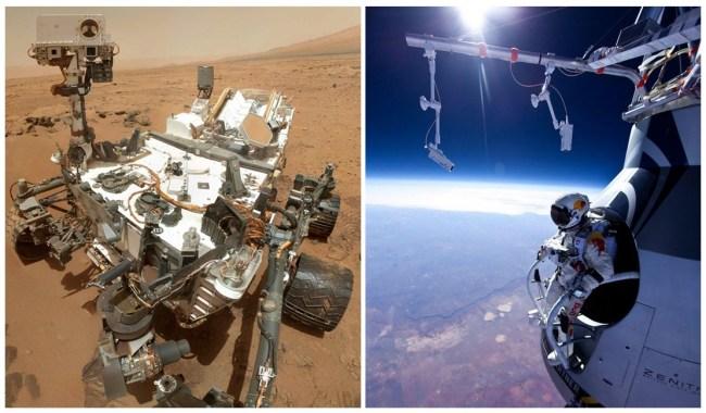 Обсуждать тему космоса после успешной реализации в 2012 году крупных международных проектов Curiosity и Red Bull Stratos снова стало модно