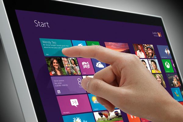 LG представляет в Украине сенсорный монитор Touch 10