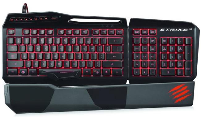 Mad Catz анонсировала на E3 новые гарнитуры и клавиатуру