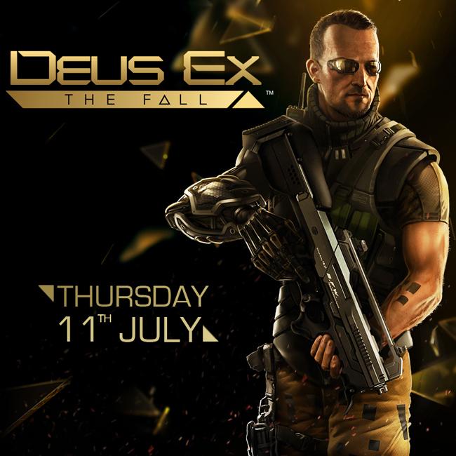 Deus Ex: The Fall выходит 11 июля