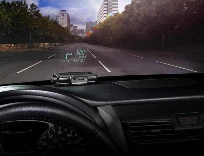 Garmin представила систему для проецирования навигационной информации на стекло