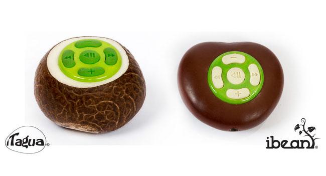 На Kickstarter собирают деньги для выпуска MP3 плееров из бобов и орехов