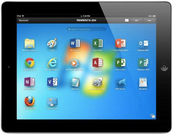 Parallels Access - приложение для запуска настольных Mac и Windows приложений на iPad
