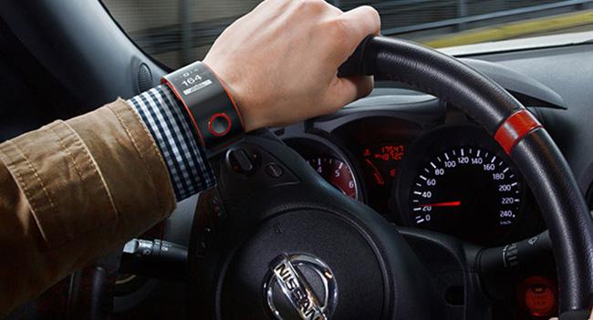 Nissan анонсировала концепт умных часов Nismo Watch для водителей