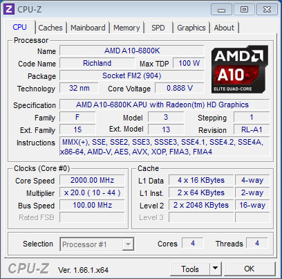 AMD_Richland_6800K_CPU-Z_info
