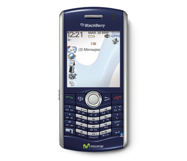 Модель BlackBerry Pearl 8120