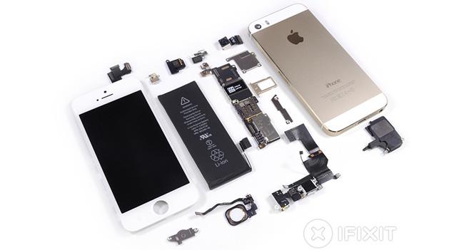 Эксперты iFixit разобрали смартфон Apple iPhone 5S
