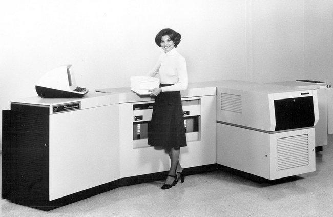 Лазерный принтер Xerox 9700, который переполнил чашу терпения Столлмана