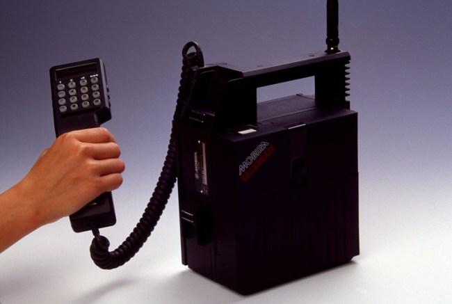 Переносимый телефон Mobira Talkman