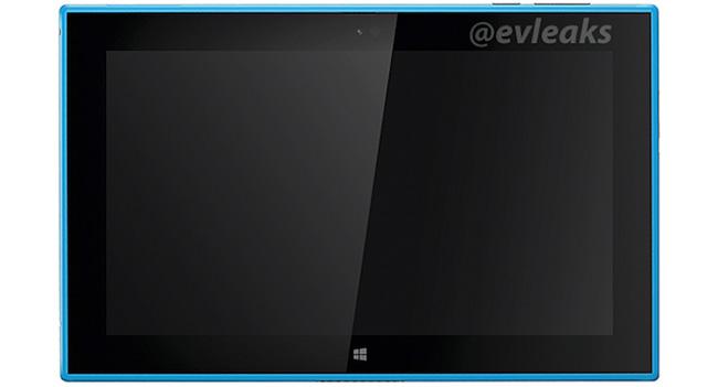 Появились изображения планшета Nokia Lumia 2520