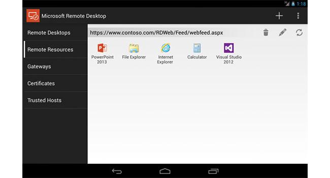Microsoft анонсировала RDP клиенты для мобильных платформ iOS и Android