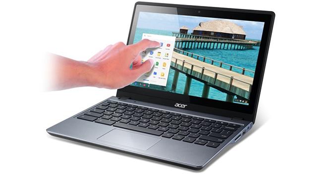 Acer C720P - Chromebook с сенсорным экраном по цене $299