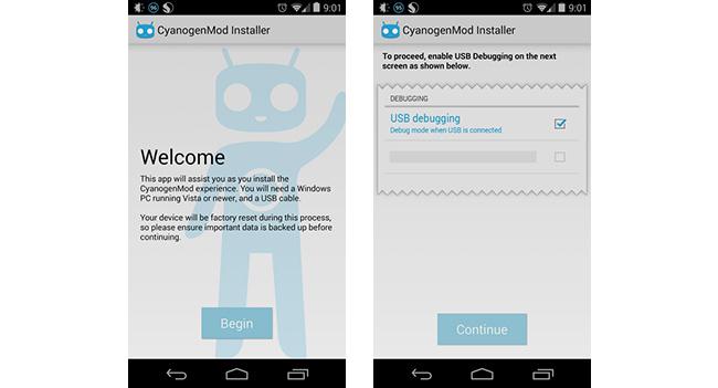 CyanogenMod Installer стал доступен в Google Play