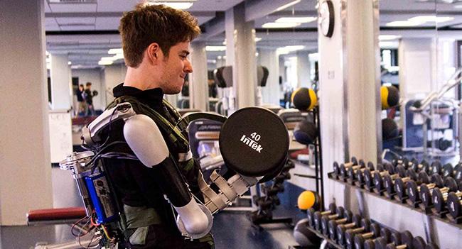 Разработан экзоскелет, увеличивающий силу рук пользователя