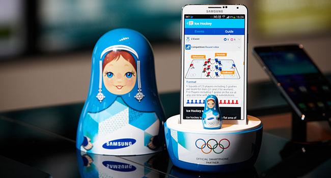 Samsung запустила мобильное приложение Wireless Olympic Works