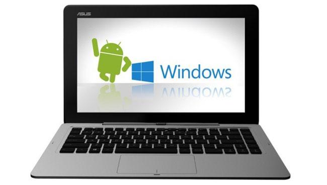 ASUS анонсировала гибридный ноутбук Transformer Book Duet TD300 с двумя ОС