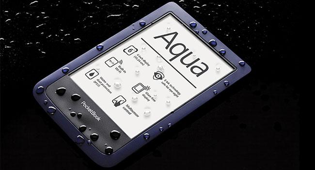 PocketBook Aqua - первый в мире влагостойкий ридер