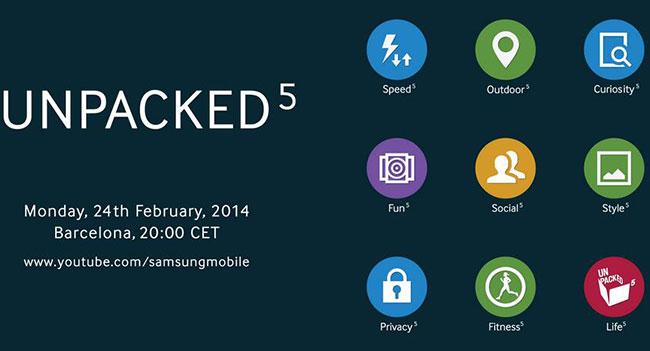 Samsung по крупицам делится информацией о мероприятии Unpacked 5