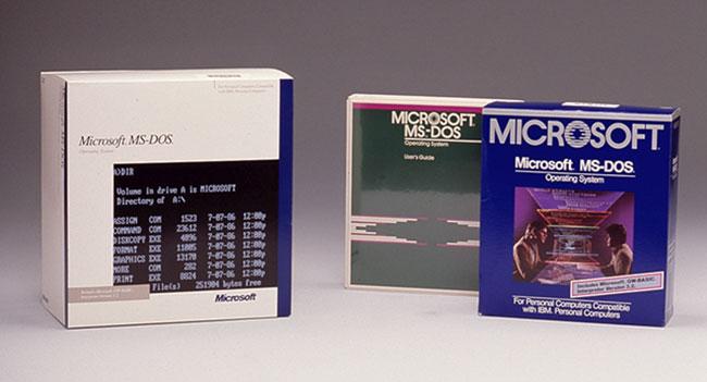 Microsoft передала код MS-DOS и Word for Windows в Музей компьютерной истории