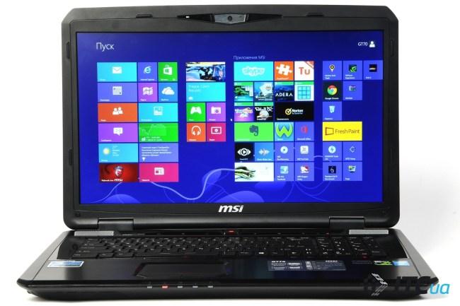 Обзор MSI GT70