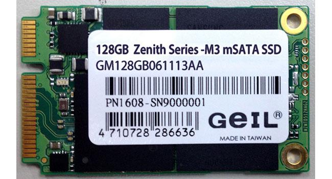 GeIL начинает поставки в Украину SSD Zenith M3